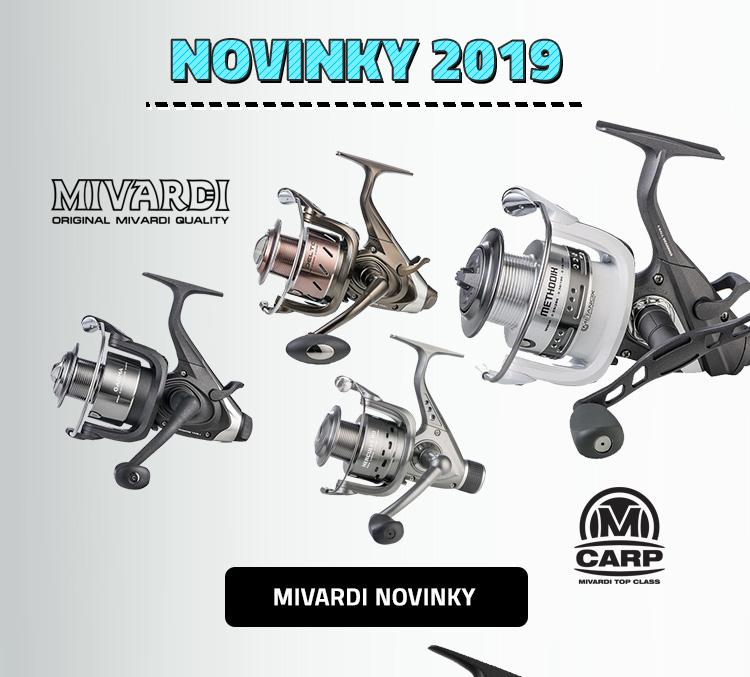 Rybářské potřeby Mivardi - novinky 2019