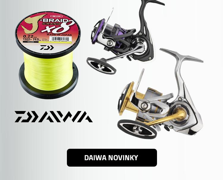 Rybářské potřeby Daiwa - novinky 2019