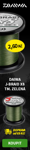 DAIWA J-BRAID X8 TM. ZELENÁ