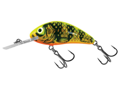 SALMO Wobler Rattlin Hornet Floating Gold Fluo Perch 5,5 CM 10,5 G