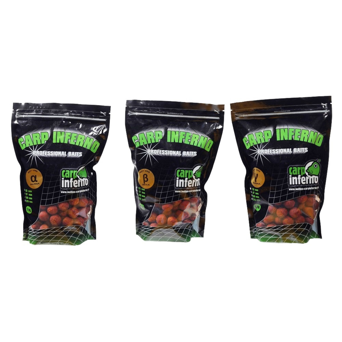 Carp Inferno Boilies Hot Line 25 mm 1 kg