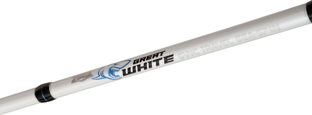 ZEBCO Prut Great White GWC Travel Sea-Spin