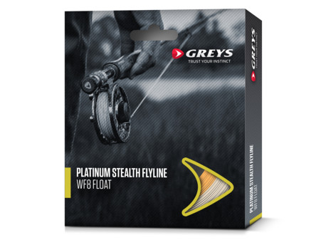 Muškařská šňůra Greys Platinum Stealth WF Clear Intermediate