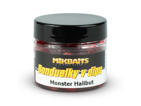 Bonduelky v dipu 50ml - Monster Halibut