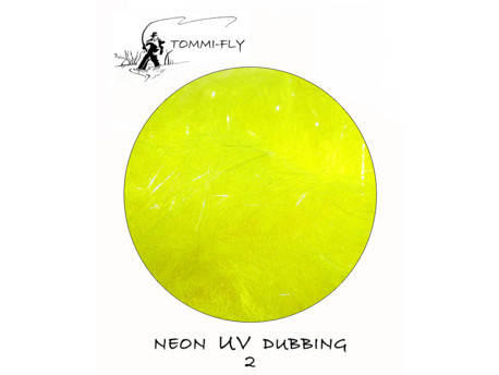 TOMMI FLY NEON UV DUBBING - yellow