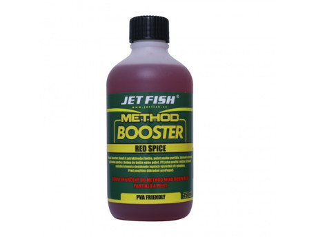 JET FISH Method booster 250ml RED SPICE