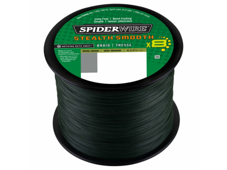 Šňůra Spiderwire Stealth Smooth 8 Zelená METRÁŽ