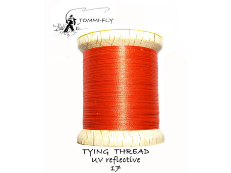 TOMMI FLY TYING THREAD UV REFLECTIVE - TUV17