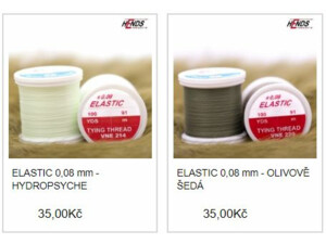 Hends ELASTIC 0,08 mm - 100 m