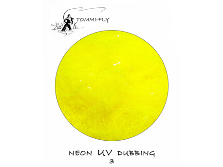 TOMMI FLY NEON UV DUBBING - yellow 03