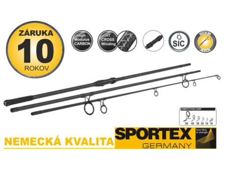 SPORTEX prut Competition Carp CS-4 3-díl