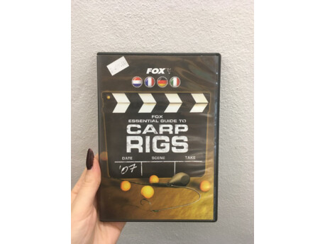 FOX DVD ESSENTIAL GUIDE TO CARP RIGS VÝPRODEJ!