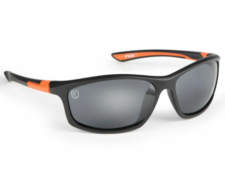 Fox Brýle Sunglasses Black Orange Grey Lense