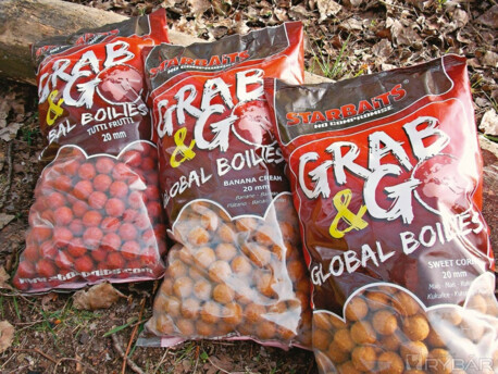 STARBAITS GRAB & GO GLOBAL BOILIES 20 mm 10kg SQUID AND OCTOPUS