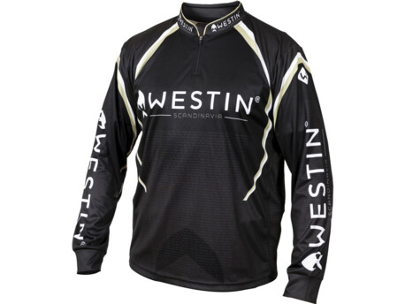 Westin: Tričko LS Tournament Shirt Black/Grey Velikost3XL