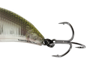 Westin: Wobler BuzzBite Crankbait 4cm 4g Low Floating Green Ghost