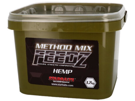 STARBAITS Method Mix Hemp 1,7kg