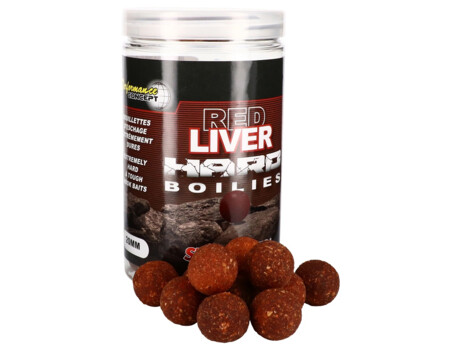 STARBAITS Hard Boilies Red Liver 200g
