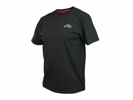 FOX Rage Triko Black Marl Tee Short Sleeve