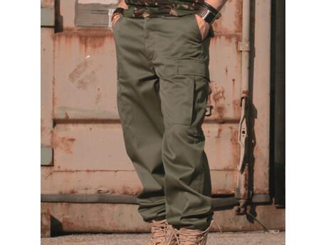 MIL-TEC Kalhoty US BDU typ Ranger Zelené VÝPRODEJ 5d17e00021