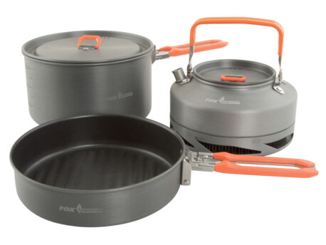 FOX Třídílná sada nádobí Cookware Set Medium