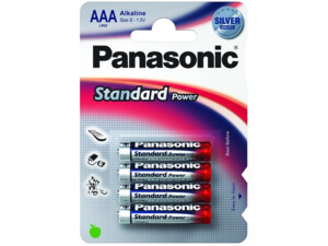 Panasonic LR03SPS/4BP Standard Power Silver