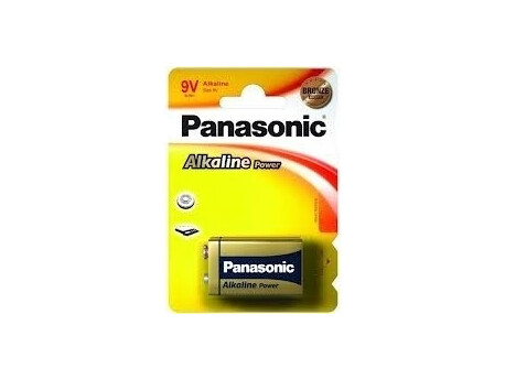 Baterie PANASONIC Alkaline Power 9V 1ks