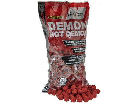 Boilies STARBAITS Hot Demon 2,5kg + 2,5kg PELET ZDARMA!!
