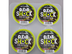 JET FISH Clear Shock Leader - 100m
