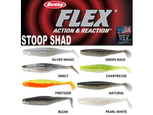 BERKLEY Riper Flex STOOP SHAD 7,5cm