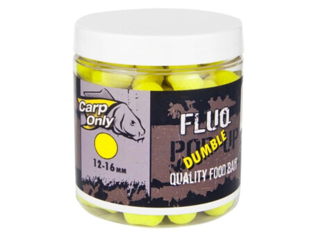 Plovoucí boilies dumbelky CARP ONLY Yellow 100g