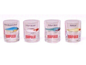 Rapala Shot Glass 4ks