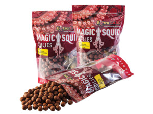 EXTRA CARP Magic Squid Boilie 20mm/1kg + Hard Hook Boilie Zdarma!