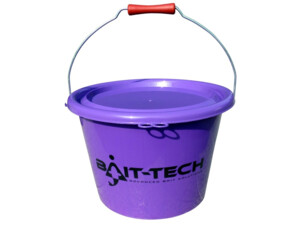 BAIT-TECH Kbelík Groundbait Bucket - Purple