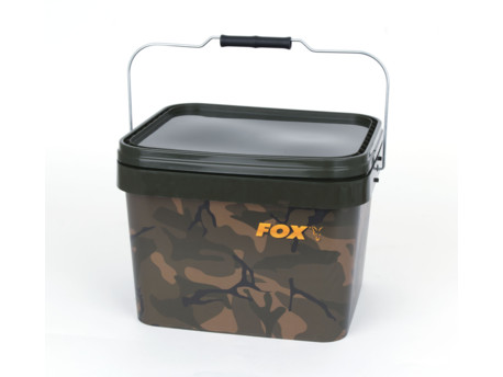 FOX Kbelík Camo Square Buckets 10l