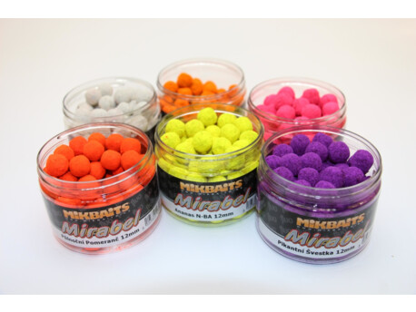 MIKBAITS Mirabel Fluo boilie 150ml