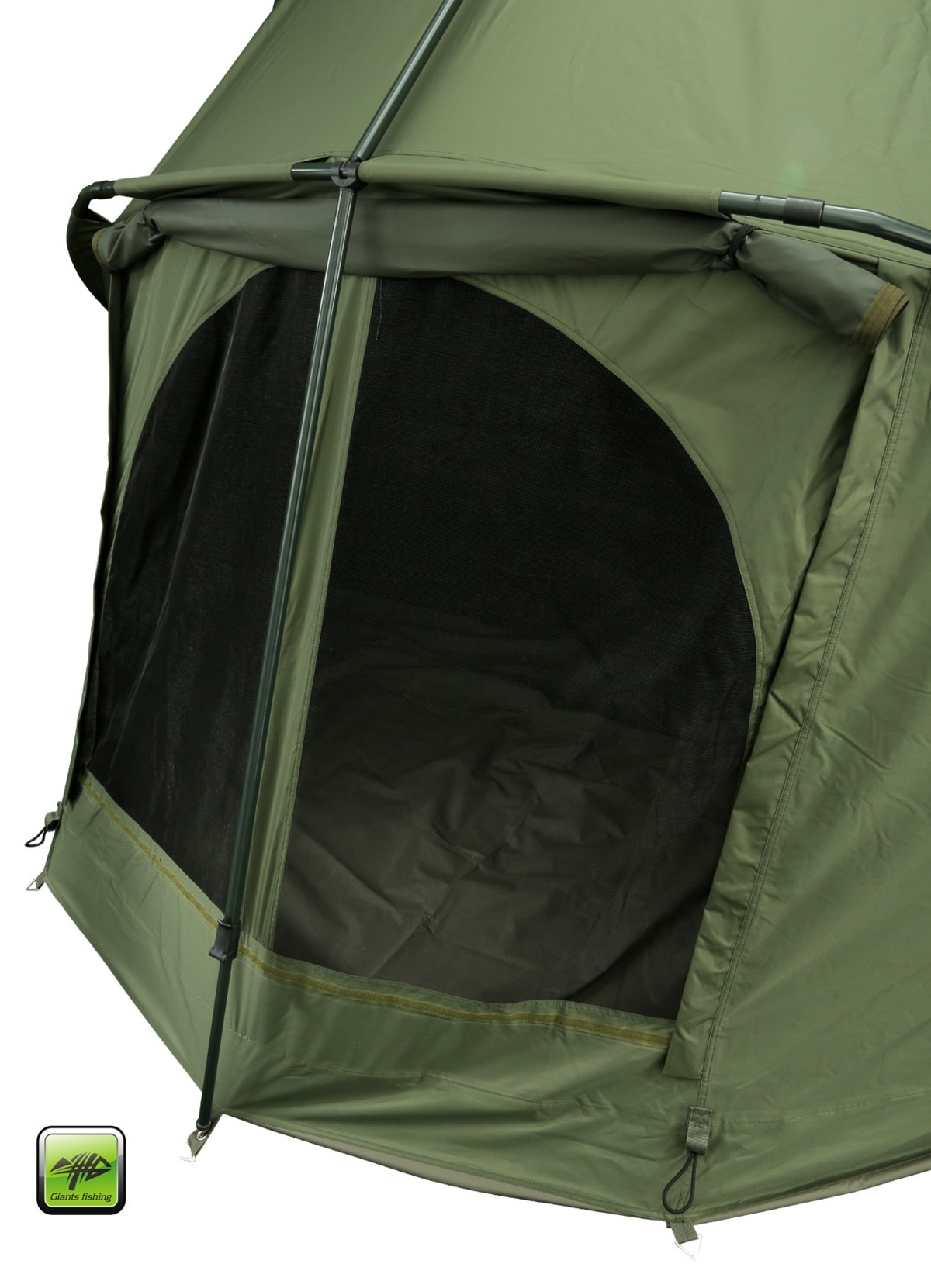 GIANTS FISHING Bivak Luxury Bivvy 2-3 Man + Světlo Camping Lamp LED Deluxe