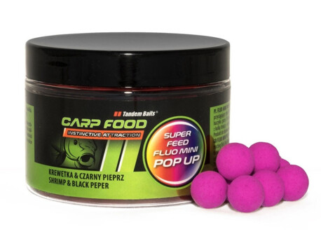TANDEM BAITS SuperFeed Fluo Mini Pop-Up 12mm / 150ml VÝPRODEJ