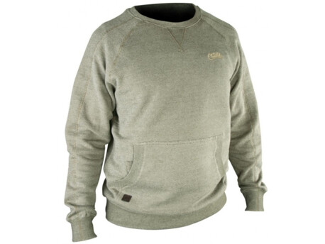 FOX CHUNK Crew Sweatshirt OLIVE VÝPRODEJ 7e3a7dc2aa