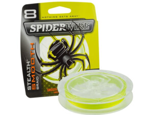 Šňůra Spiderwire Stealth Smooth 8 Žlutá 150m
