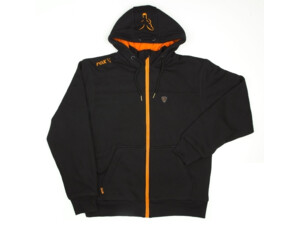 FOX Mikina Black and Orange Lined Hoody VÝPRODEJ