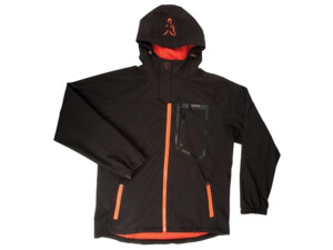 FOX Bunda Black and Orange Softshell Jacket VÝPRODEJ!!