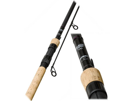 STARBAITS Kaprový prut 3-dílný Partner Black Ops Full Cork