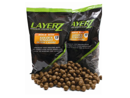 Boilie STARBAITS LAYERZ Golden Maggot 800g 18mm - 40% VÝPRODEJ!!