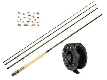 GIANTS FISHING Trout Fly CLX 9ft/5 + naviják zdarma!