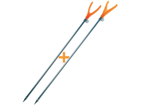 CARP SYSTEM vidlička SET 2ks -orange V + U - 40cm