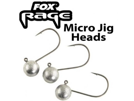 Fox Rage Micro Jig Heads 5ks