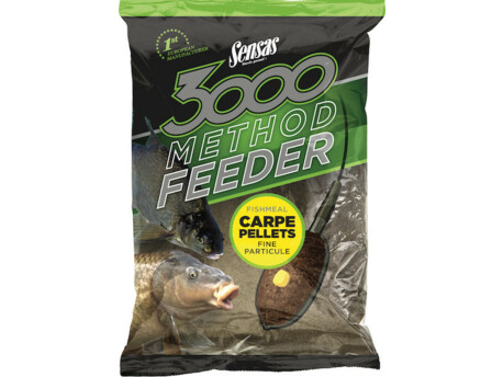 SENSAS 3000 Method Feeder Carpe Pellets
