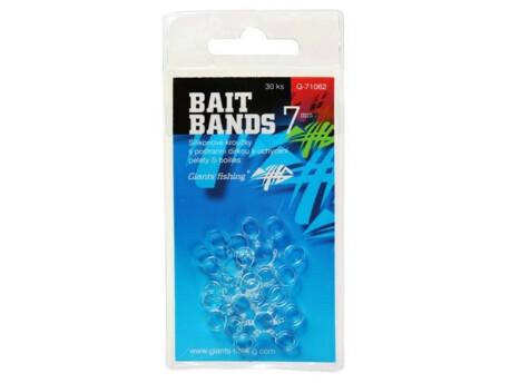GIANTS FISHING Silikonové kroužky Bait Bands 10mm/30pc