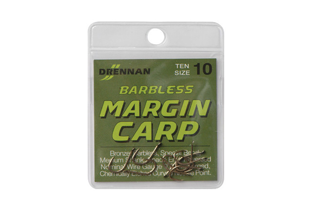 DRENNAN Háčky Barbless Margin Carp vel.10